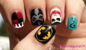 Batman-Joker-Nail-Art-3