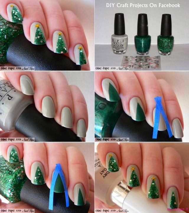Easy-Christmas-Tree-Nail-Art2